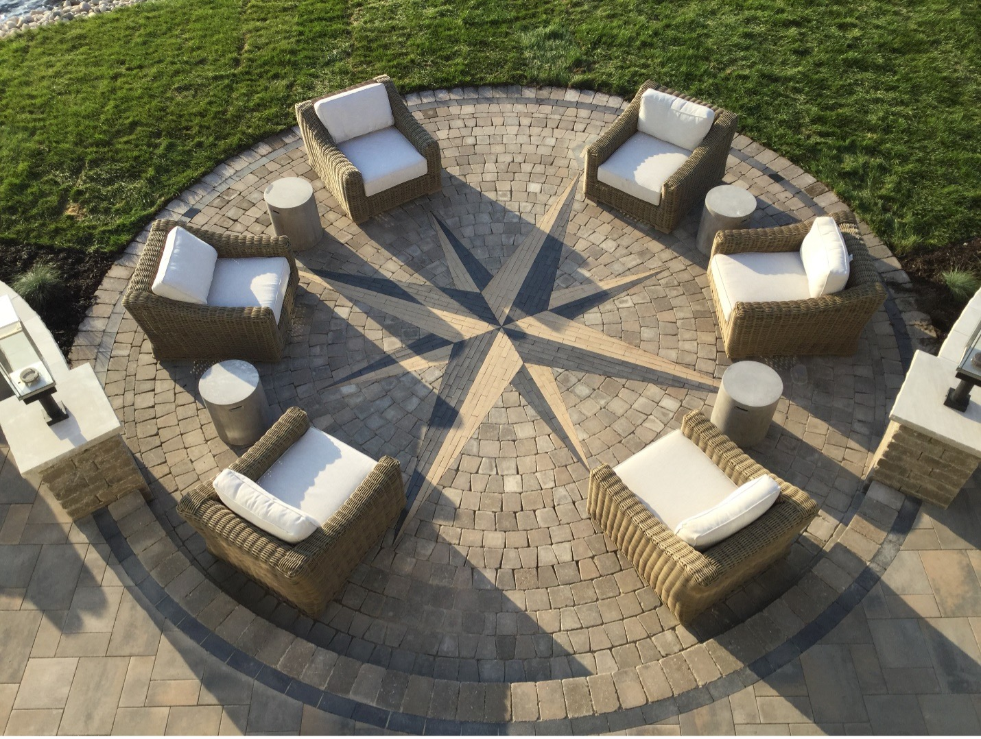 Round Patio -