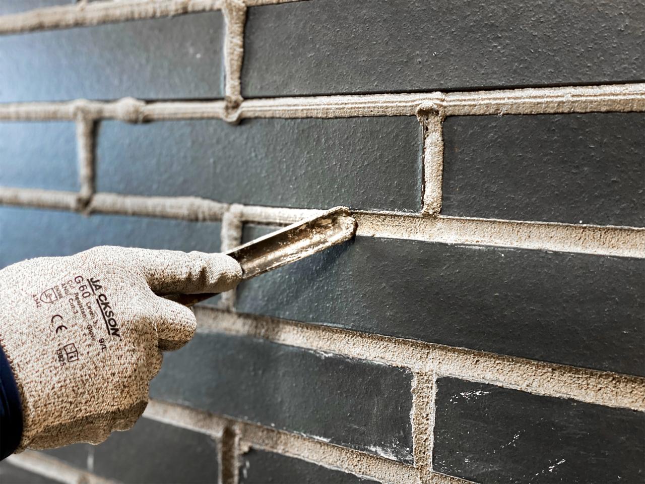 DIY Thin Brick Wall image